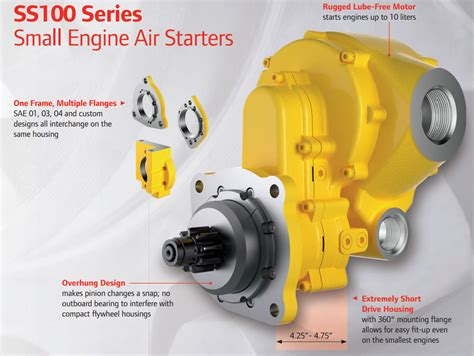 ingersoll rand ss100 series air starter cardinal valley industrial supply