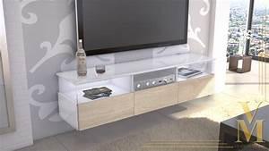 Lowboard Weiß Hochglanz 3m : lowboard kommode tv board unterschrank almeria wei hochglanz naturt ne ebay ~ Markanthonyermac.com Haus und Dekorationen