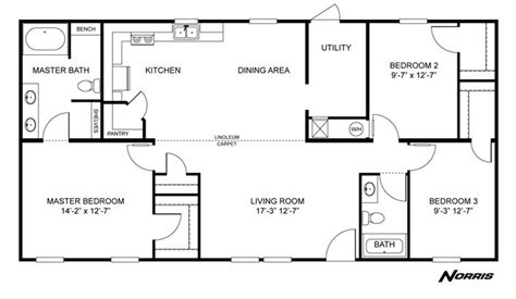 clayton homes home floor plan manufactured homes modular homes mobile home house ideas