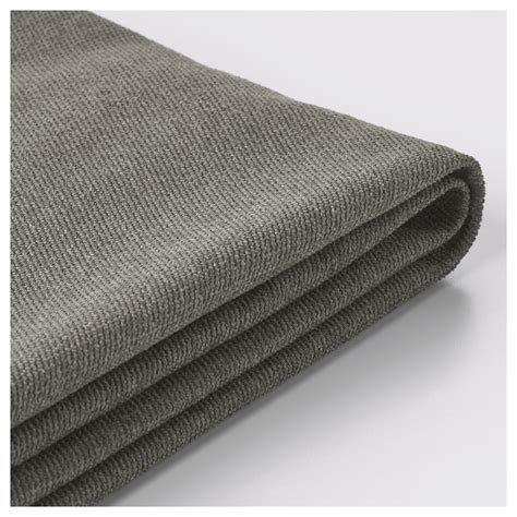 kivik cover for chaise longue borred grey green ikea