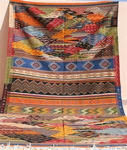Großer Runder Teppich : gro er kelim teppich 2x3 kelimteppich 200x300 handgewebter teppich marokko flachgewebe kilim ~ Markanthonyermac.com Haus und Dekorationen