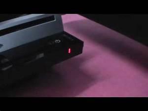 motion sensor blinking red