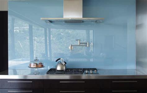 Colored Glass Backsplash Kitchen  Rapflava
