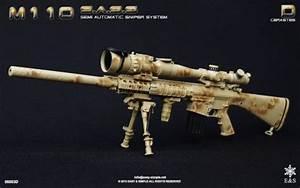 M110 Semi Automatic Sniper System (Desert Camo) Easy ...