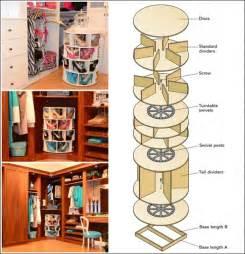 voici comment fabriquer un meuble de rangement tourniquet pour vos chaussures dressing