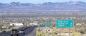 Arizona Highway 68 from Golden Valley to Bullhead City