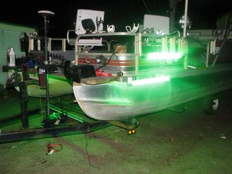 Boat Lights Georgia by Pontoon Fishing Lights Need Everyones Opion