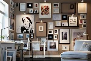 Wand Mit Fotos Dekorieren : die kunst an der wand ~ Markanthonyermac.com Haus und Dekorationen