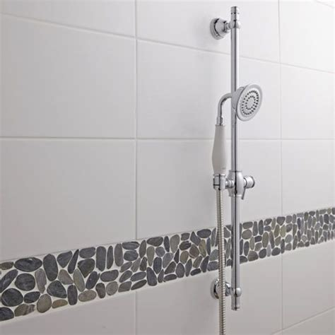 carrelage mural loft satin 233 en fa 239 ence blanc blanc n 176 0 20 x 50 2 cm salle de bain