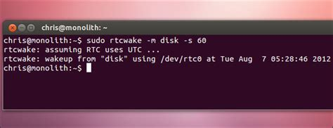 Sleep Command Linux by How To Make Your Linux Pc Wake From Sleep Automatically