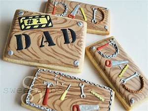Father's Day Cookie TutorialSweetAmbs