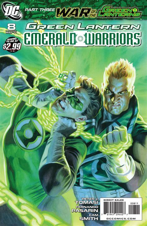 review green lantern emerald warriors 8 comic book daily