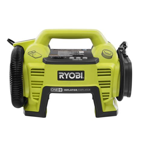 Inflatable Boat Bunnings 18v one inflator deflator cit1800g ryobi tools