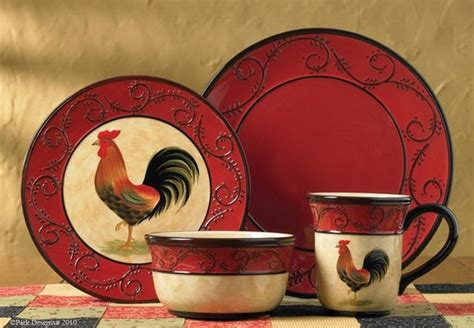 Home Interior Rooster Dishes : 20 Best Dinnerware Sets Images On Pinterest