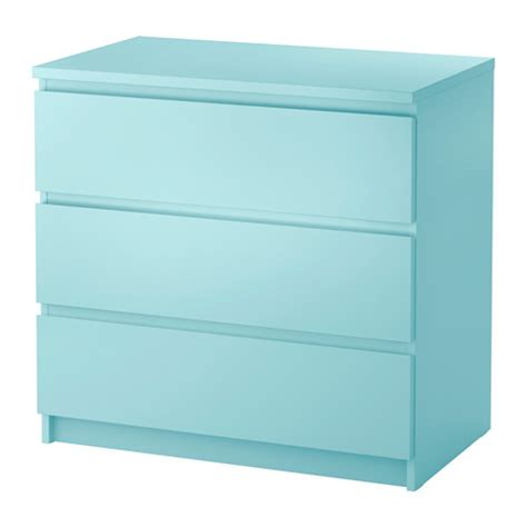 ikea malm 6 drawer dresser package dimensions malm 3 drawer chest light turquoise 31 1 2x30 3 4 quot ikea