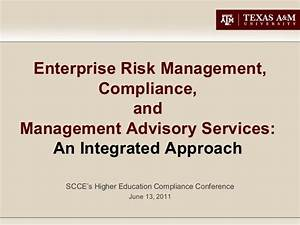 (104) Enterprise Risk Management, Compliance, and ...