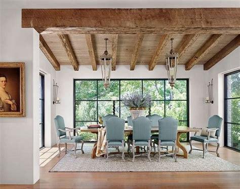 lanternes n 233 oclassique meubles salle 224 manger rustique faisceau d 233 clairage de plafond d 233 co