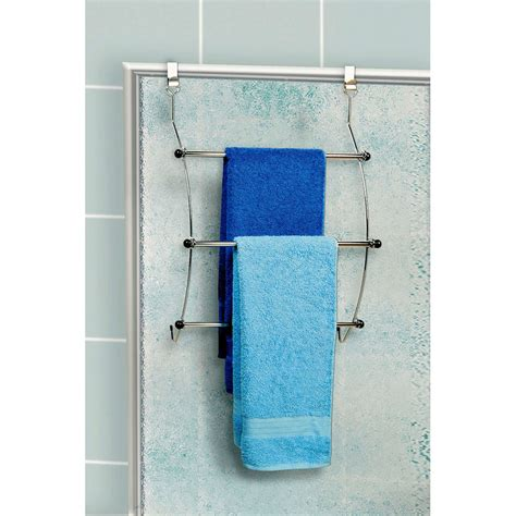 porte serviette susp chrome astuce porte serviettes accessoires salle de bains salle de
