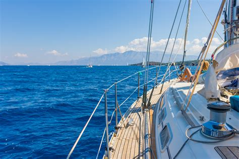 Sailing On Greece by Sailing Yacht In Lefkada Greece Bliss Honeymoons