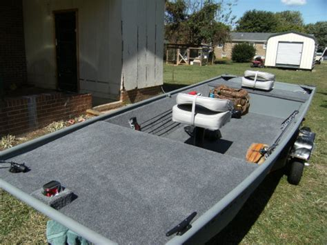 12 foot jon boat deck modification car interior