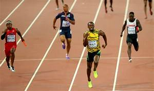 Watch Usain Bolt bag 3rd gold medal in IAAF World ...