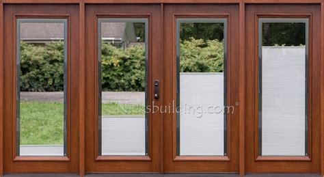 Patio Door With Blinds Between Glass by Patio Doors With Blinds Between Glass Exles