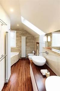 Holzdecke Im Bad : ber ideen zu moderne badezimmer auf pinterest doppelwaschbecken badezimmer und ~ Markanthonyermac.com Haus und Dekorationen