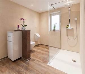 Holzdecke Im Bad : ein bad ohne fliesen und l stige fugen zitzelsberger gmbh ~ Markanthonyermac.com Haus und Dekorationen