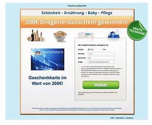 Dm Gutschein Online : 200 euro gutschein f r rossmann dm m ller e mail ist ein gewinnspiel ~ Markanthonyermac.com Haus und Dekorationen