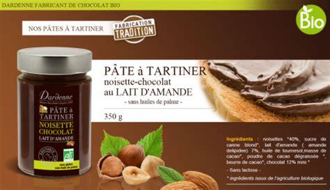 p 226 te 224 tartiner noisette chocolat au lait d amande dardenne v 233 g 233 talienne comparatif