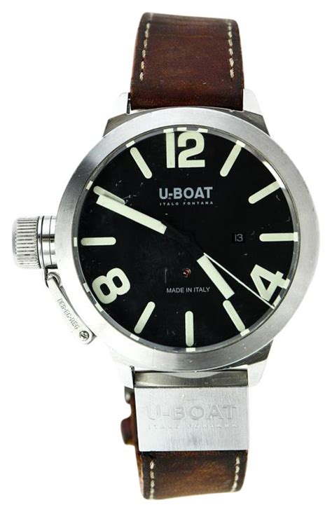 U Boat Watch Fontana by U Boat Stainless Steel Italo Fontana Watch Tradesy