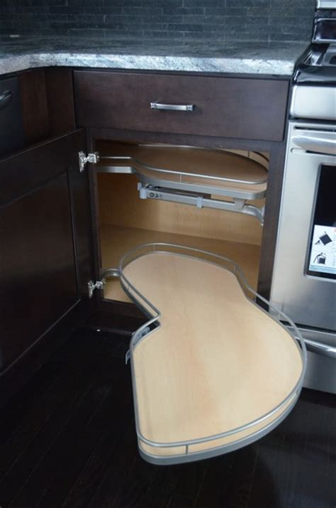 blind corner base cabinet with pull out shelves