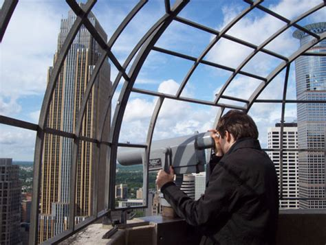 atop the foshay tower observation deck minneapolis