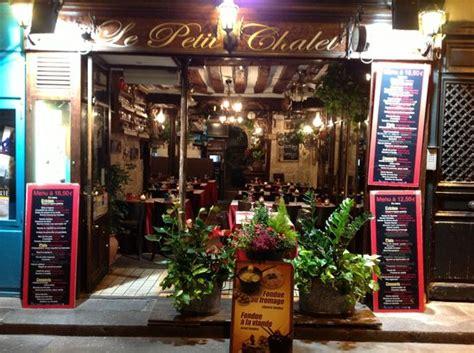 le petit chalet restaurant reviews photos tripadvisor
