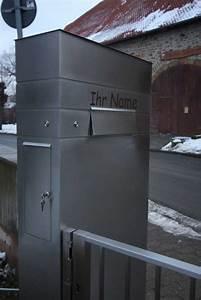 Standbriefkasten Mit Klingel : briefkastenanlage klingel hinterleuchtete hausnummer und tor aus ~ Markanthonyermac.com Haus und Dekorationen