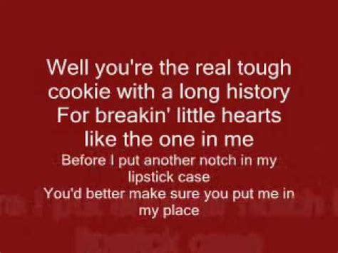 pat benatar hit me with your best lyrics