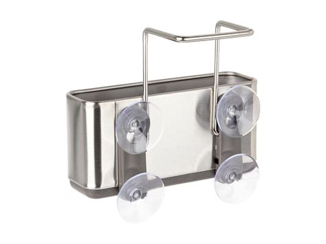 simplehuman slim sink caddy stainless steel shipped free