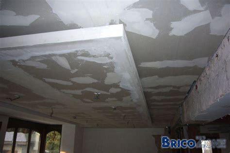 faux plafond salle de bain ossature bois