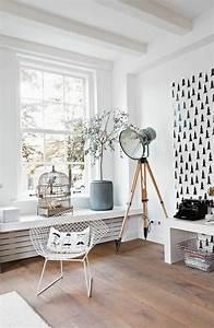Sessel Skandinavischer Stil : 71 wohnzimmer tapeten ideen wie sie die wohnzimmerw nde beleben ~ Markanthonyermac.com Haus und Dekorationen