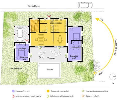 plan maison de plain pied 140 m 178 ooreka