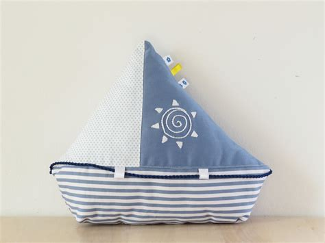Easy Toy Boat by Sailboat Sewing Pattern With Instant Download Sew Toy