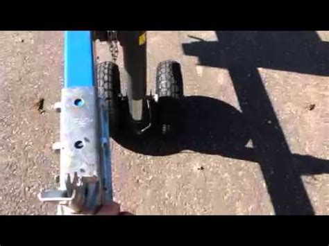 Boat Trailer Jack With Pneumatic Tire by Successful Design Fabrication Of A Custom Dual Tire
