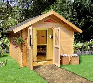 Sauna Im Garten : nutzen sie ihren garten f r eine sauna ein gartenhaus einen carport ~ Markanthonyermac.com Haus und Dekorationen