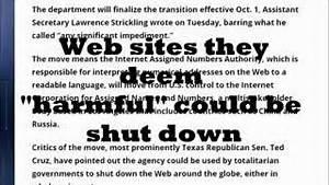 #VoteTrump: #OBAMA #INTERNET GIVEAWAY HALTED ! #TERROR