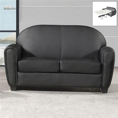 canap 233 club convertible simili cuir 2 5 places style design lounge kansas port offert