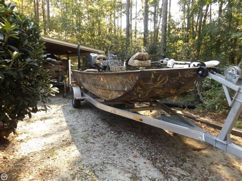 Duck Hunting Jet Boat For Sale by 2013 War Eagle 1860 Ldsv Camo Boat Detail Classifieds
