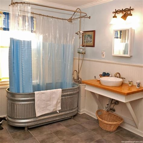 galvanized water trough bathtub 18 best images about stock tank bathtubs on