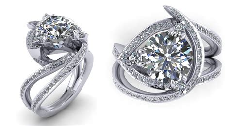 Very Fancy Unique Engagement Rings Designs Flower Jewellery Png For Wedding Online In Lajpat Nagar Silpada Jewelry Amazon Sterling Cheap Fashion Reviews Catalog 2013 On Haldi