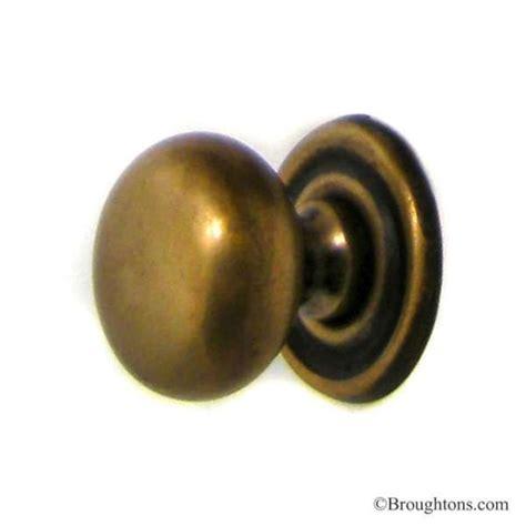 antique brass door knobs 1 quot plain cupboard door knob antique satin brass