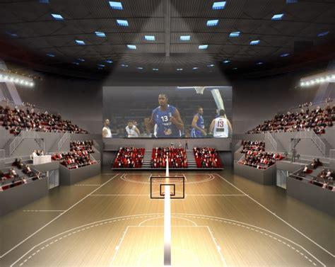 palais des sports atelier ferret architectures equipements sportifs culturels et logements